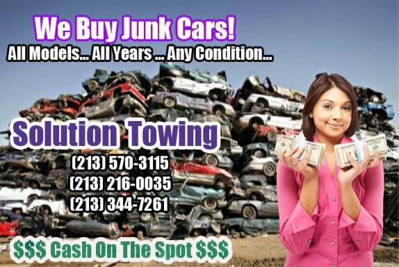 Buy Junk Cars No Title Los Angeles
